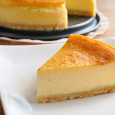 **Slow Cooker Cheesecake