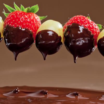 Slow Cooker Chocolate Fondue * *
