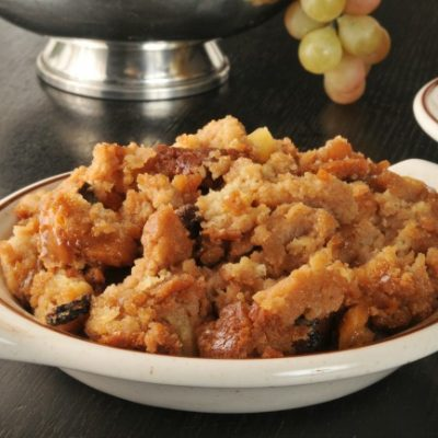 **Slow Cooker Bread Pudding