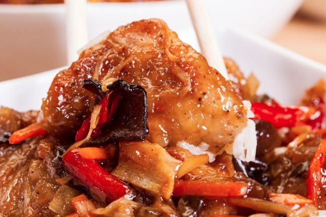 **Slow Cooker Sweet and Sour Chicken