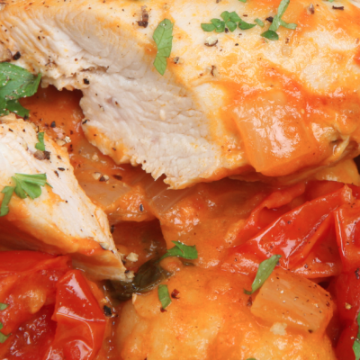 **Slow Cooker Chicken Cacciatore