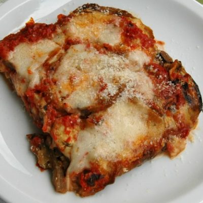 **Slow Cooker EASY Eggplant Parmesan