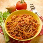 **Slow Cooker Italian Beef Spaghetti