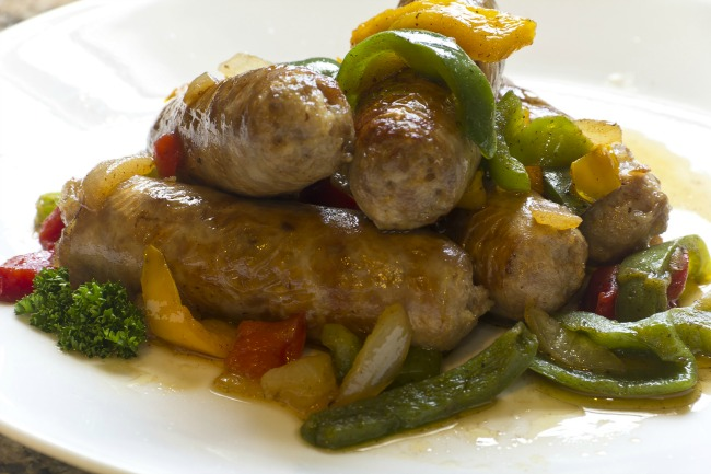 **Slow Cooker Italian Sausages