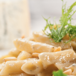 **Slow Cooker Penne with Three Cheeses