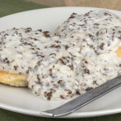 **Slow Cooker Sausage Gravy