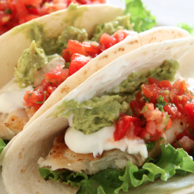 Slow Cooker Low-Fat Chicken Tacos
