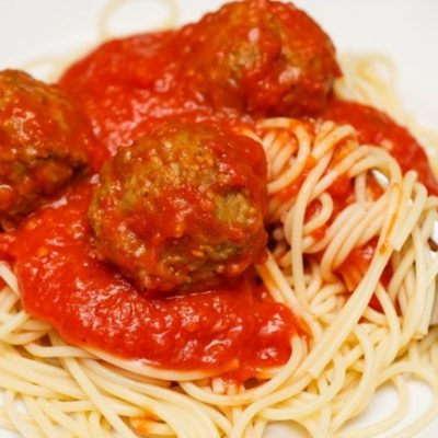 **Slow Cooker Spaghetti and Meatballs