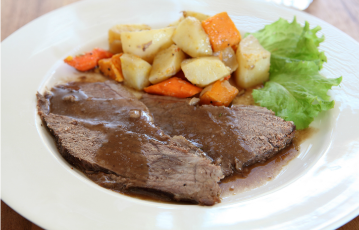 **Crock Pot Roast Beef with Coffee