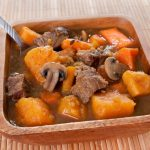 **Slow Cooker Beef Sweet Potatoes and Apple
