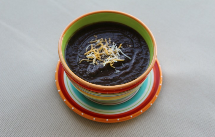 **Slow Cooker Black Bean Dip
