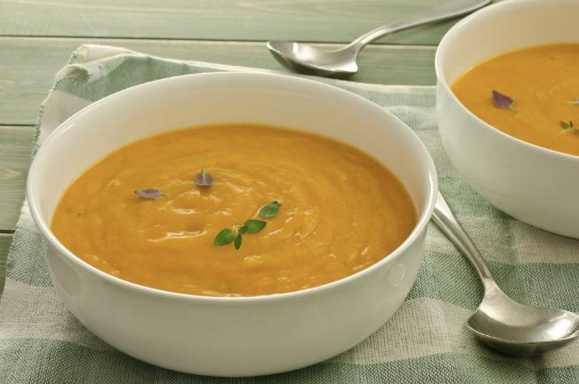 Slow Cooker Butternut Squash Soup **