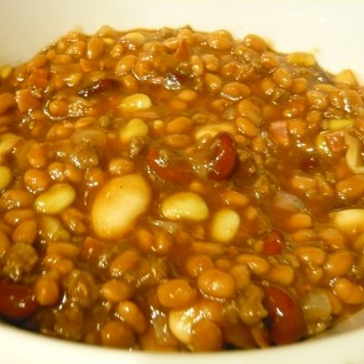 Crock Pot Calico Baked Beans