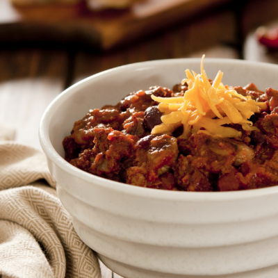 Slow Cooker Chili* *