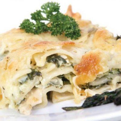 **Slow Cooker Crab & Spinach Lasagna