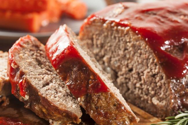 **Slow Cooker Easy Meatloaf