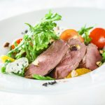 **Slow Cooker Teriyaki Beef Salad