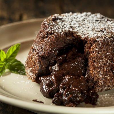 **Slow Cooker Chocolate Lava Cake