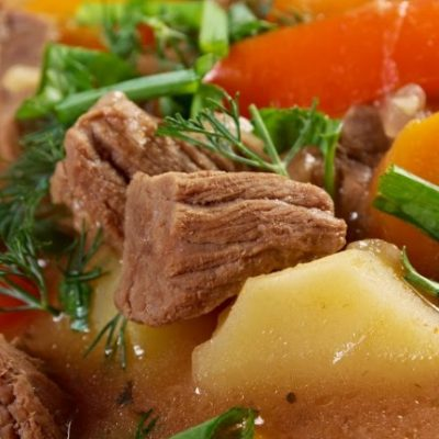 **Slow Cooker Irish Lamb Stew