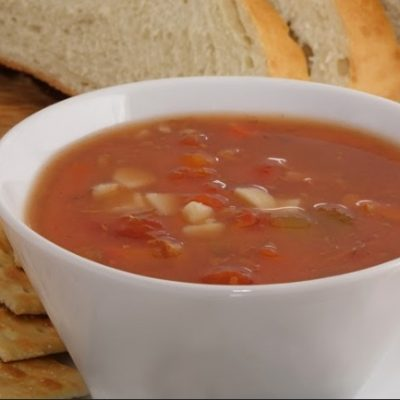 **Slow Cooker Manhattan Clam Chowder