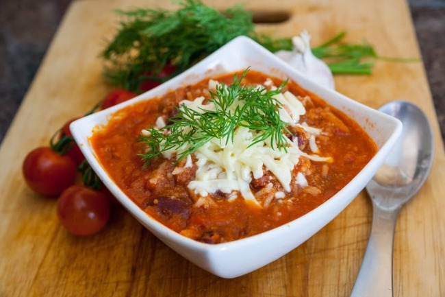 Slow Cooker Mexican Chili **
