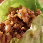Slow Cooker Chicken Lettuce Wraps * *