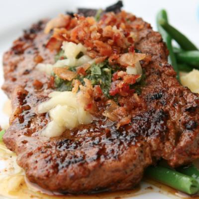 Slow Cooker Steak Diane * *