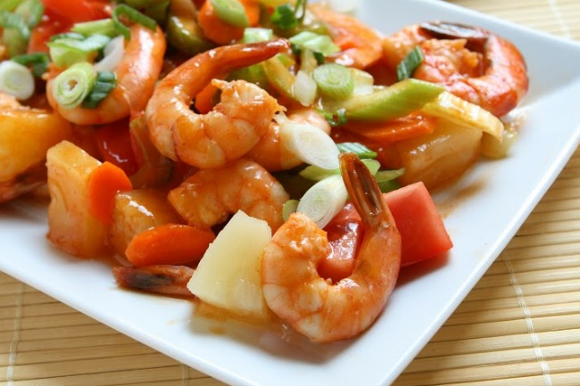 **Slow Cooker Sweet and Sour Shrimp