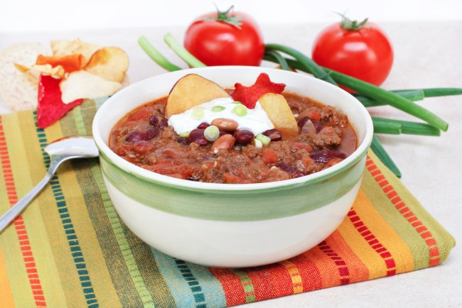 Slow Cooker Taco Soup **