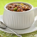 **Slow Cooker Vegetable Chili