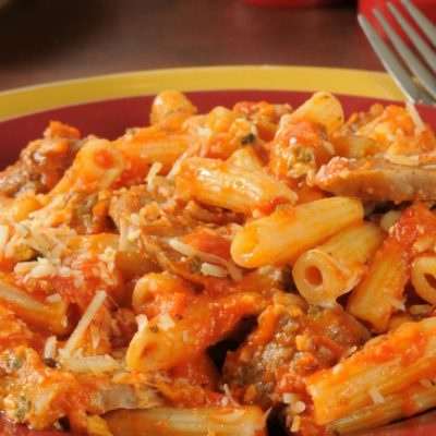 **Slow Cooker Baked Ziti