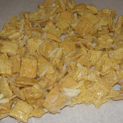 Crock Pot Crispy Cereal Mix