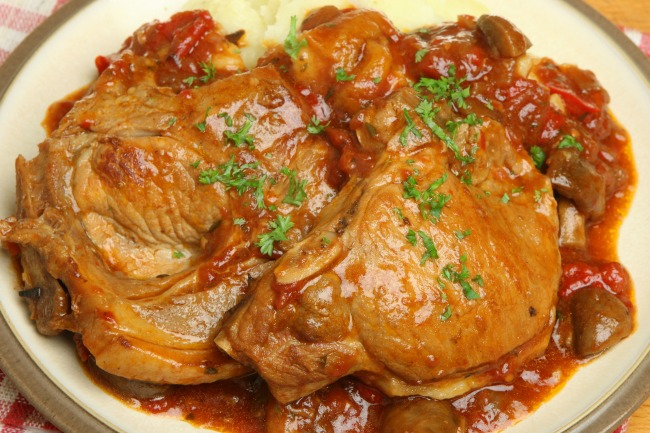 ** Slow Cooker Chops