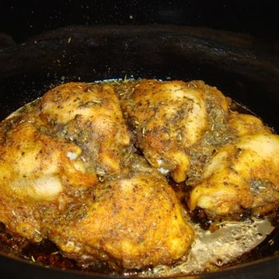 Crock Pot Fried Chicken