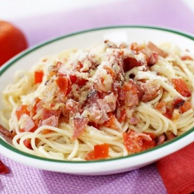 **Slow Cooker Ham and Noodles