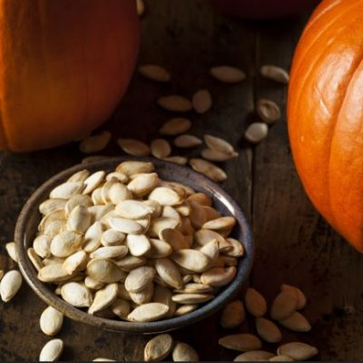 Slow Cooker Roasted Pumpkin Seeds **