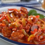 **Slow Cooker Sausage and Peppers