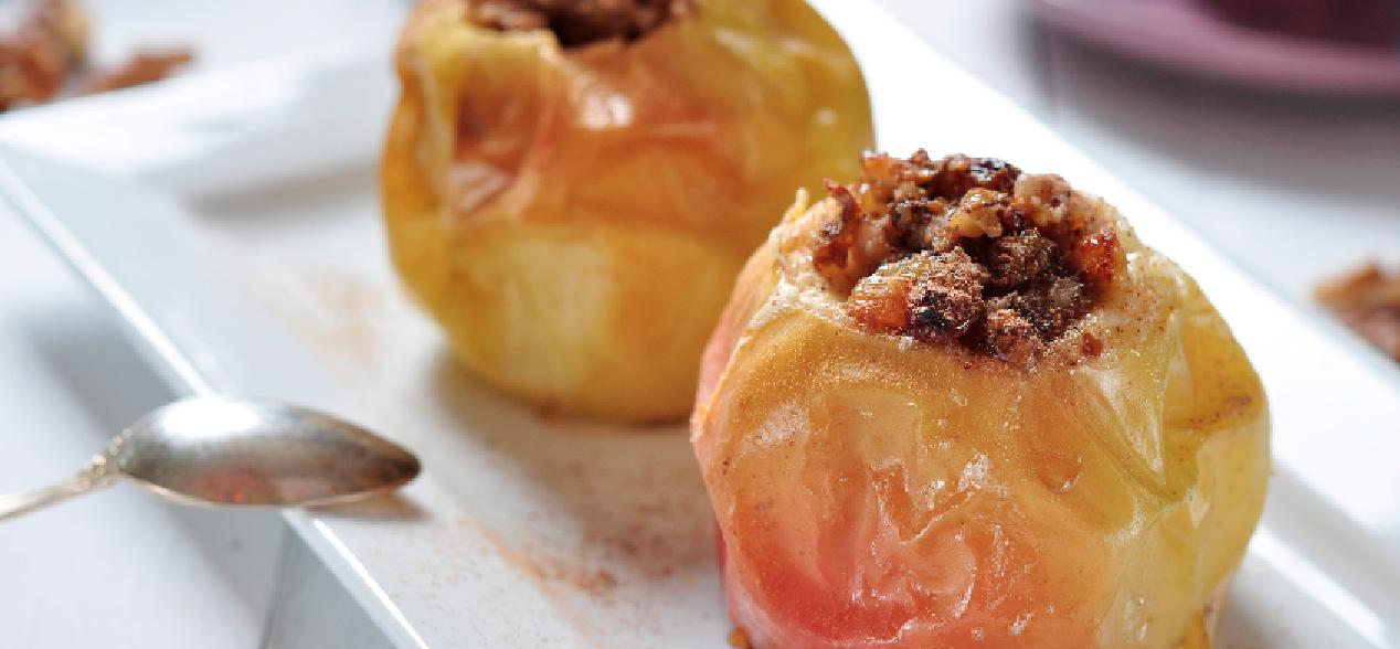 Slow Cooker Stuffed Apples * *