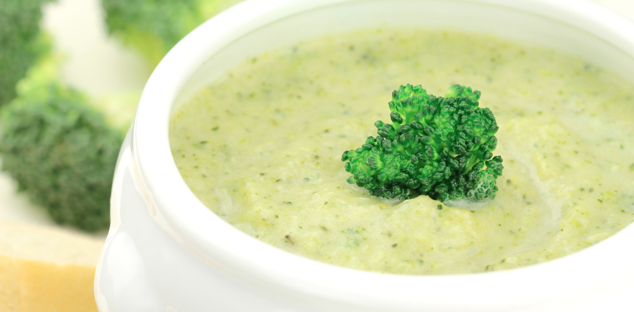 Slow Cooker Cream of Broccoli Soup * *