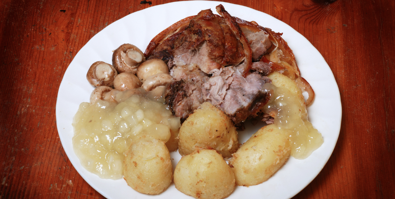 Slow Cooker Apple Glazed Pork Roast * *