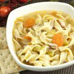 **Slow Cooker Vegetable Noodle Soup