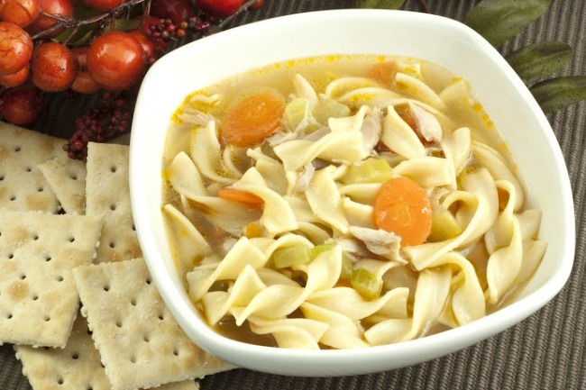 **Slow Cooker Vegetable Noodle Soup
