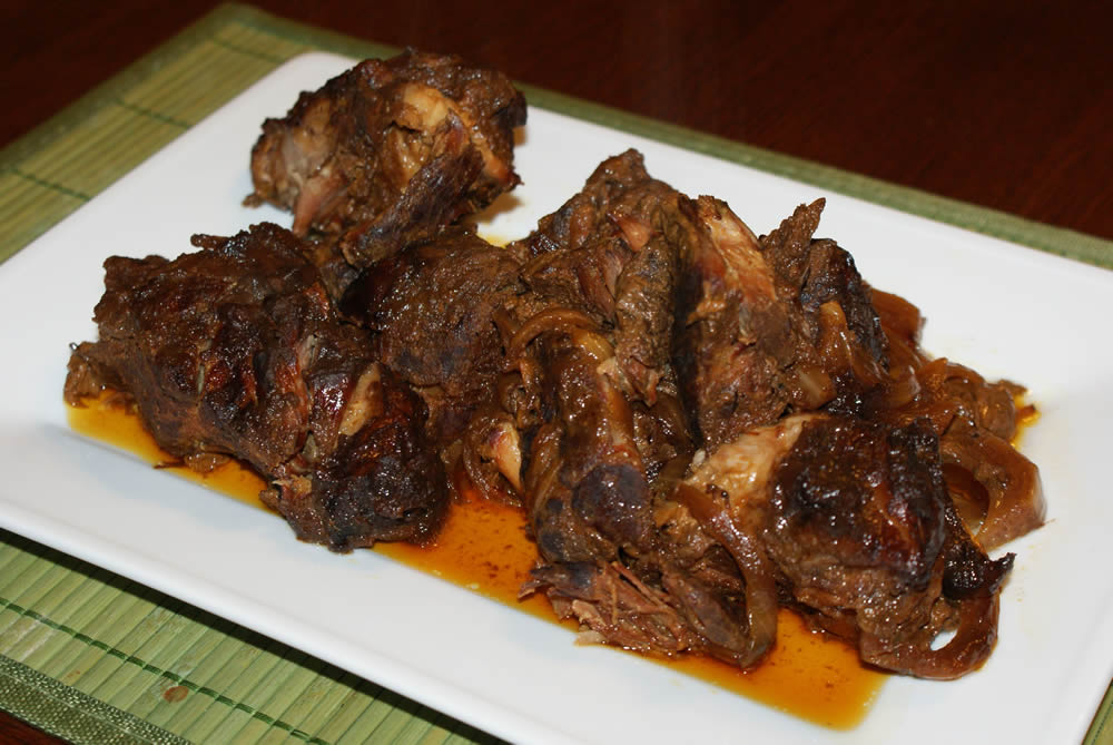 Crock Pot Apple Butter Ribs