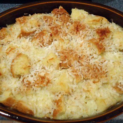 Crock Pot Coconut Bread Pudding