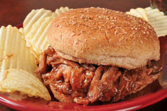 Slow Cooker BBQ Pulled Pork **