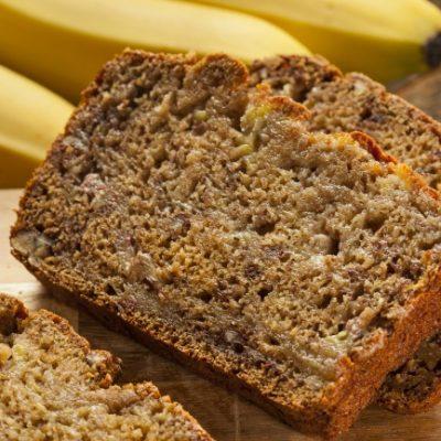 Slow Cooker Banana Bread * *