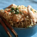 **Slow Cooker Chicken Lo Mein