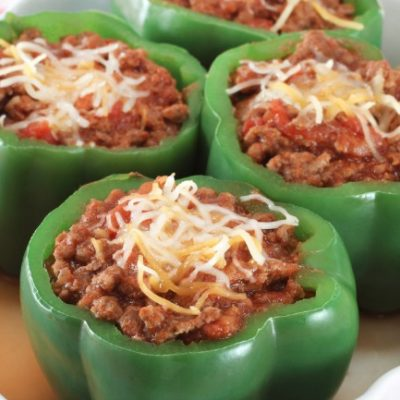**Slow Cooker Stuffed Peppers