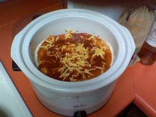 Crock Pot Mexican Casserole