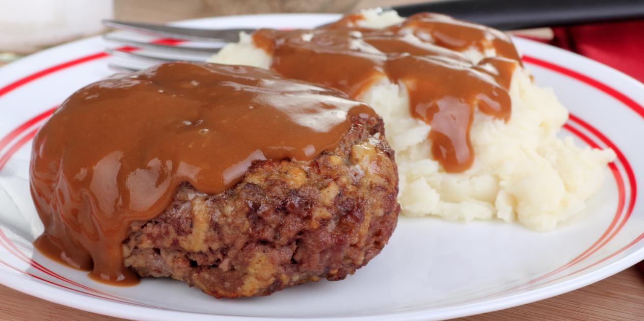 **Slow Cooker Salisbury Steak